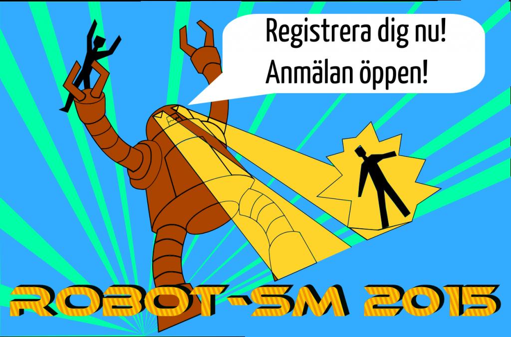 Robot-SM 2015 registrering oppen
