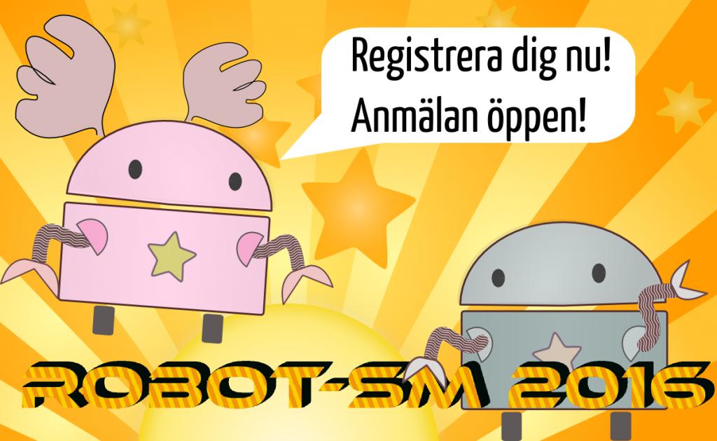 Robot-SM 2016 registrering öppen